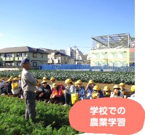 学校での農業学習